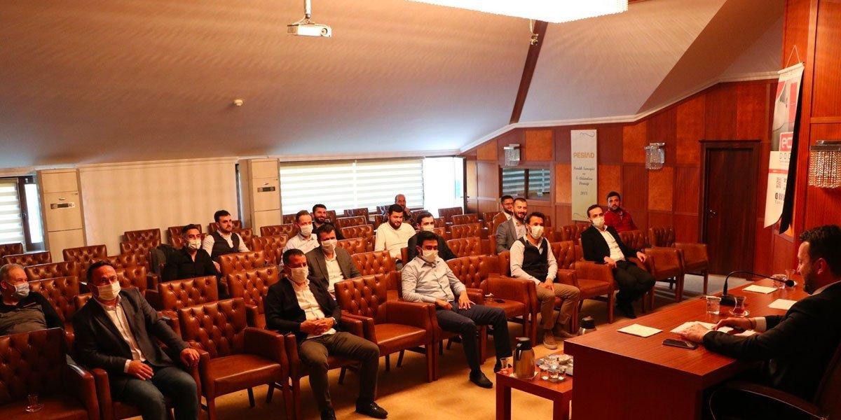 Yeni Normal Hayata Geçiş Sürecinin Başlamasıyla Birlikte PESİAD ve Genç PESİAD Yönetim Kurulu Toplantımızı Gerçekleştirdik-5