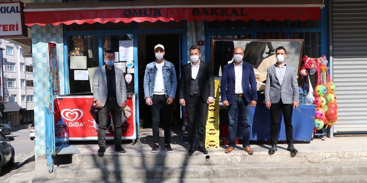 PESİAD Olarak, Üyelerimizin Desteği İle Çeşitli Mahallelerimizin Bakkallarında Bulunan Veresiye Defterlerini Kapattık-12