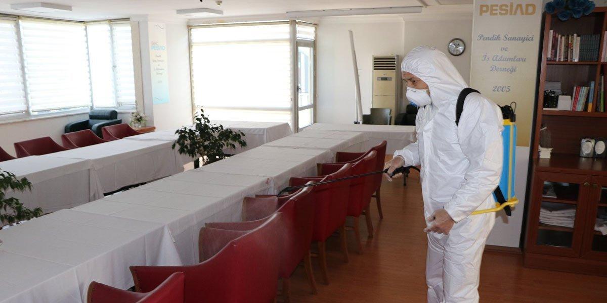 Dernek Binamızı Dezenfekte Ettik-5