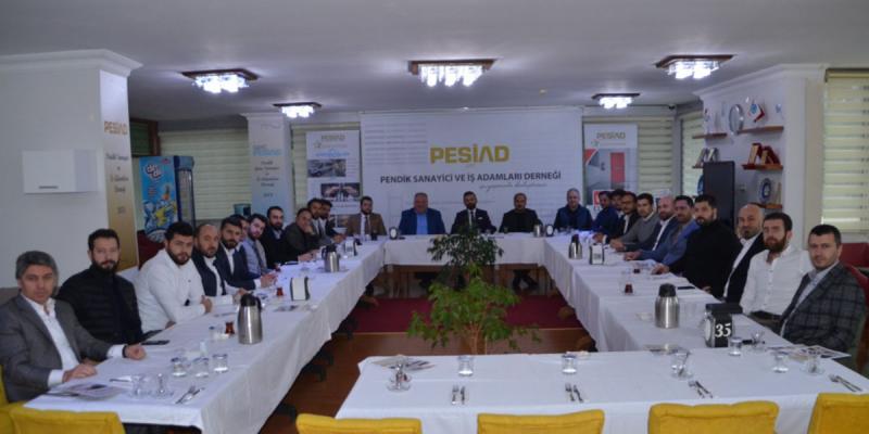 MASİAD Başkanı Muhammed Çavuşoğlu ve Yönetim Kurulu Derneğimizi Ziyaret Etti