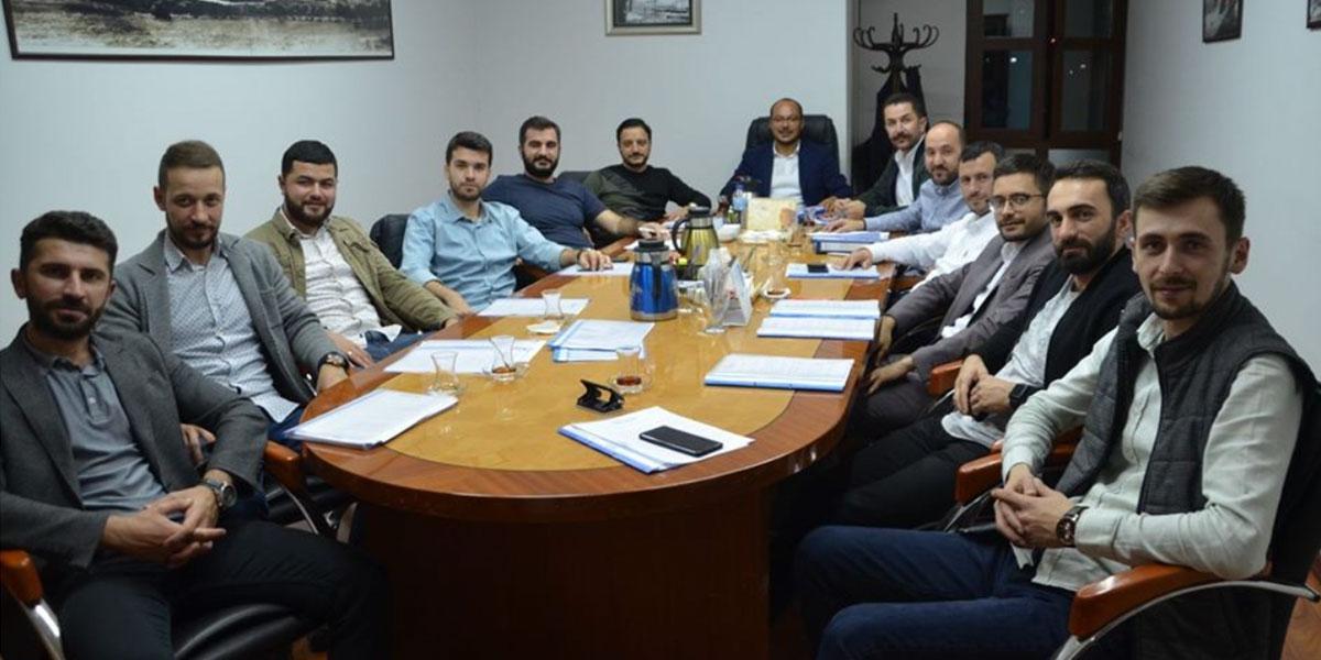 Olağan Haftalık Yönetim Kurulu Toplantımız