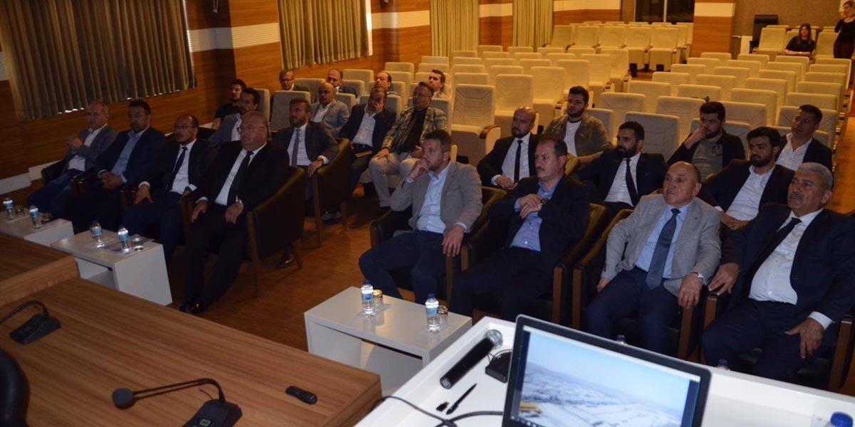 Gaziantep Organize Sanayi Bölge Müdürlüğünü Ziyaret Ettik-2