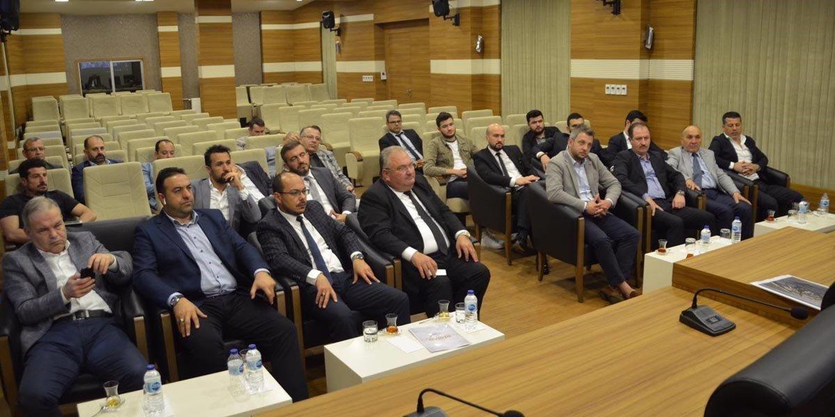 Gaziantep Organize Sanayi Bölge Müdürlüğünü Ziyaret Ettik-1