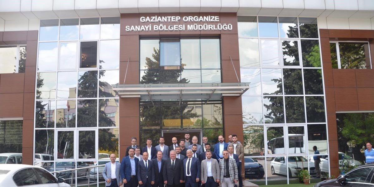 Gaziantep Organize Sanayi Bölge Müdürlüğünü Ziyaret Ettik-0