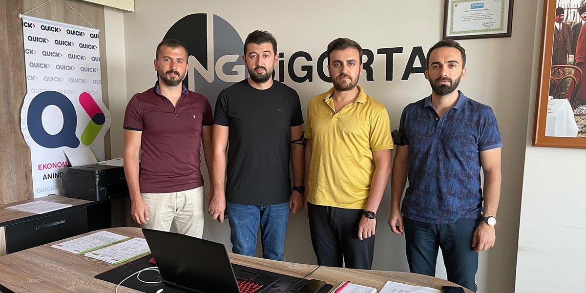 Yönetim Kurulu Üyemiz Özkan Ünğan'ı Ofisinde Ziyaret Ettik-0